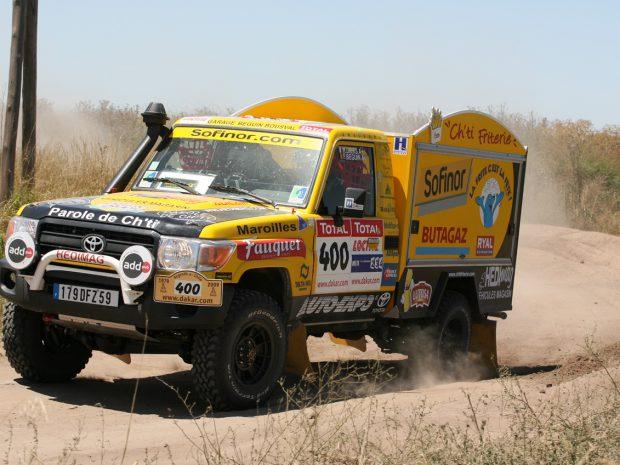 FRANCE 3 – 12/13 du 27 novembre – La Ch'ti Friterie sur le Dakar 2009