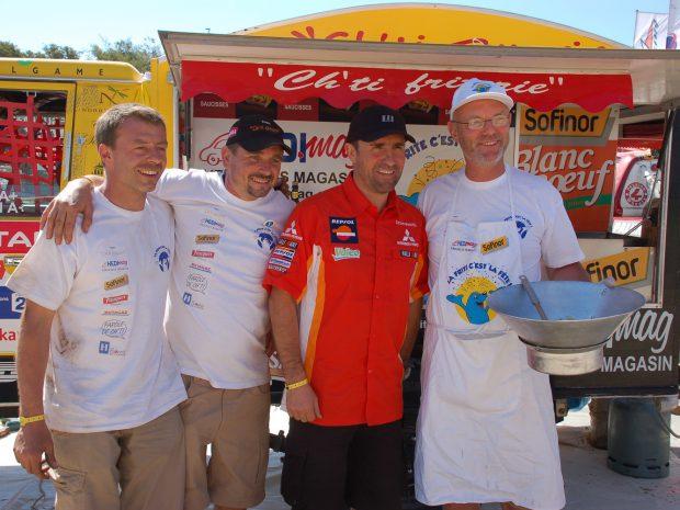FRANCE 2 – JT – La Ch'ti Friterie un 4×4 taillé pour la course Dakar 2009