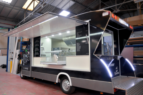 camion friterie snack hedistream camion hedistream airstream hedimag food truck