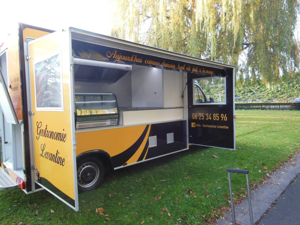 camion friterie snack standard hedimag food truck
