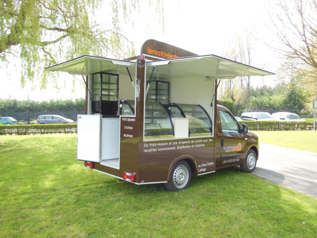 concept 39 doblo food truck snack hedimag fabricant de commerce mobile. Black Bedroom Furniture Sets. Home Design Ideas