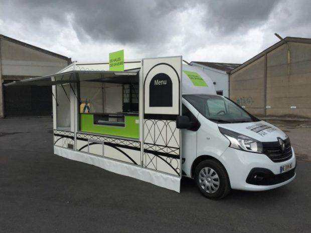 Le camion Halle des Saveurs: innovation!