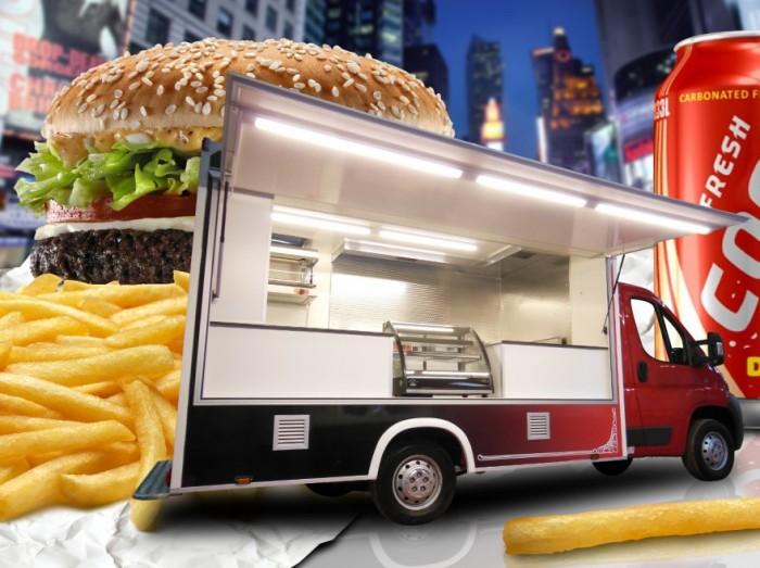 Votre food truck sur mesure hedimag fabricant de for Remorque cuisine mobile