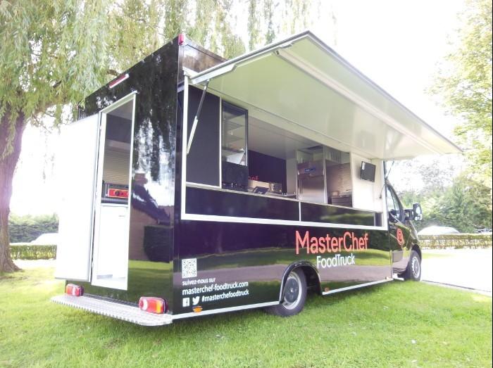 le food truck masterchef hedimag fabricant de commerce mobile. Black Bedroom Furniture Sets. Home Design Ideas