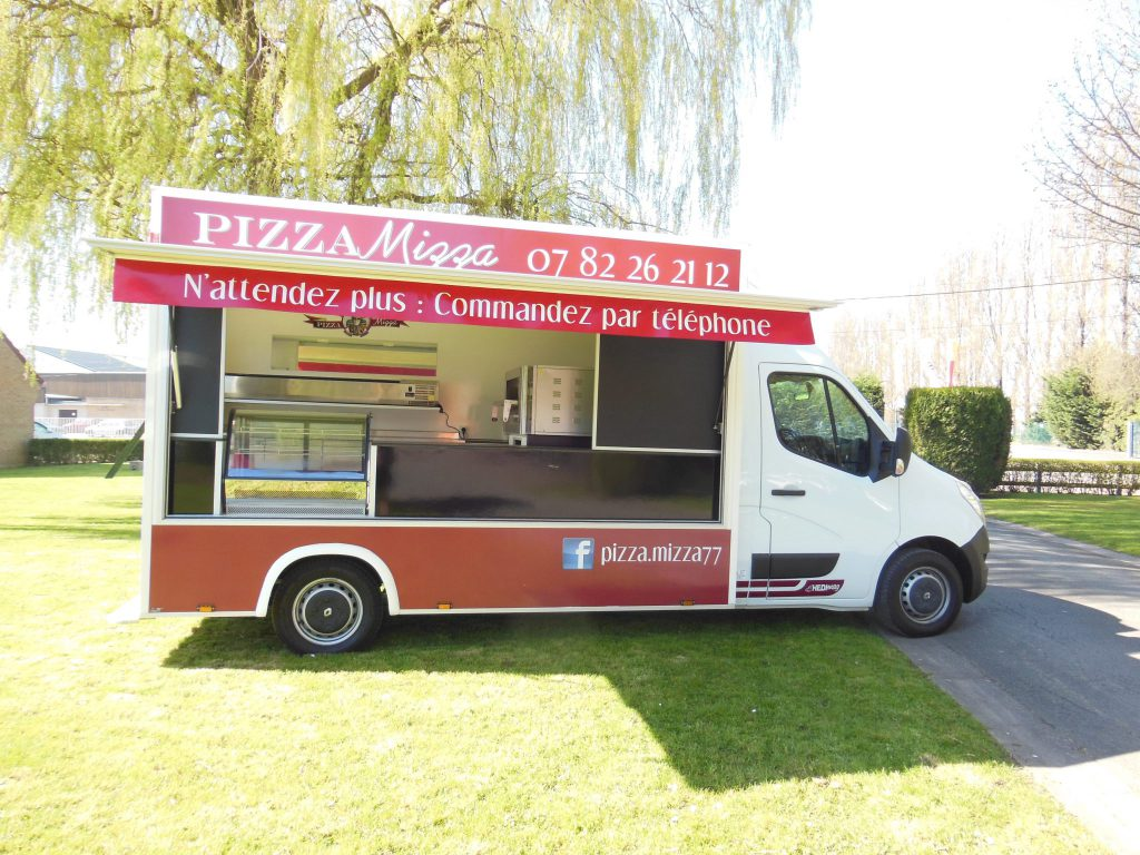 camion pizza pâtes standard camion pizza hedimag food truck