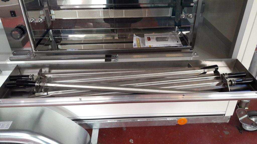 R2600 rôtisserie remorque rôtisserie Hedimag