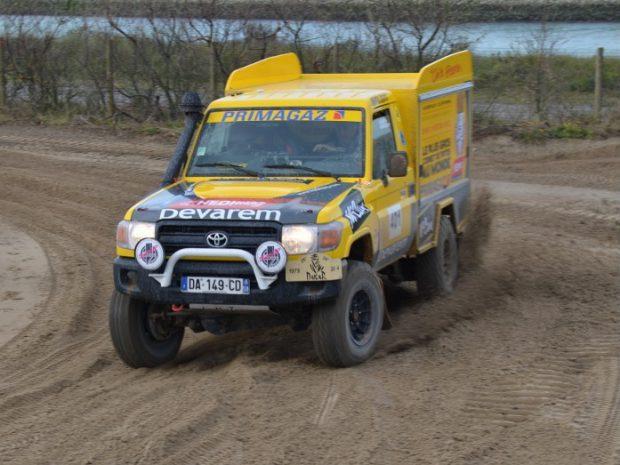 Le retour de la Ch'ti Friterie sur le Dakar 2014 !
