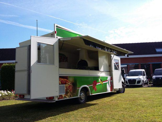 Camion pizza pâtes prestige
