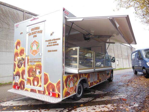 Camion épicerie vrac éco
