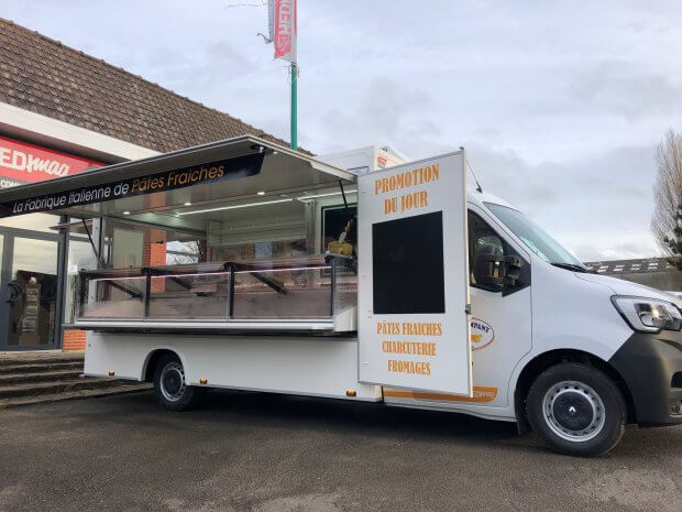 Camion de marché réfrigéré prestige