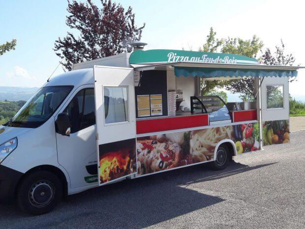 Camion pizza pâtes version éco