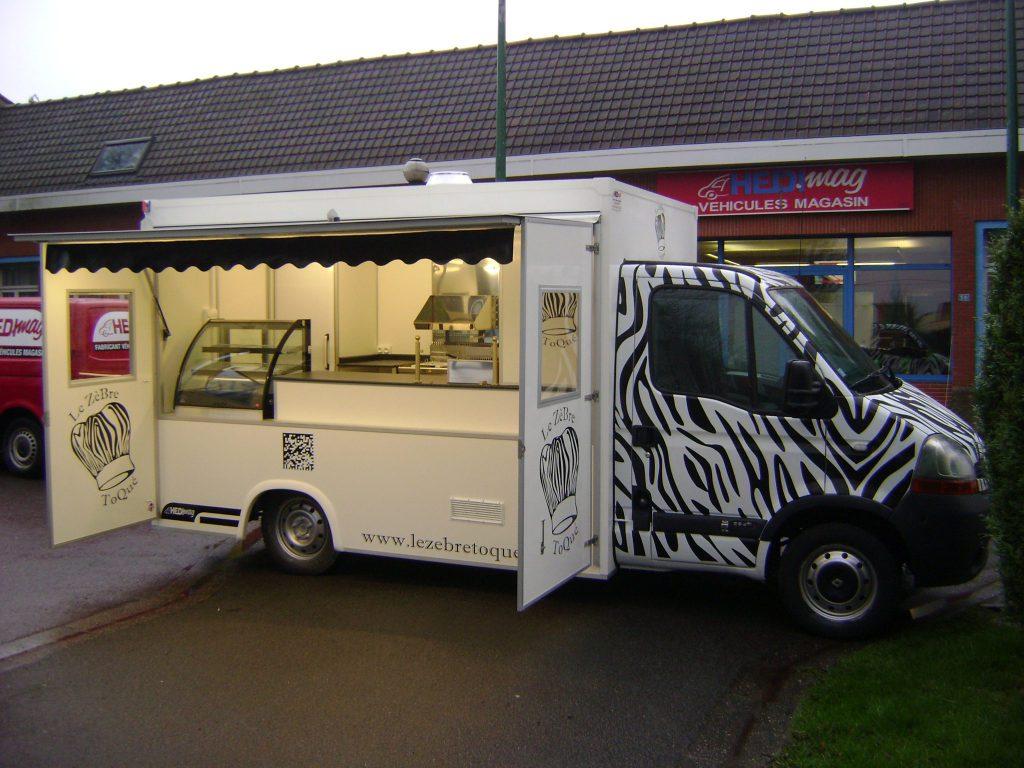 camion friterie snack version co hedimag fabricant de. Black Bedroom Furniture Sets. Home Design Ideas