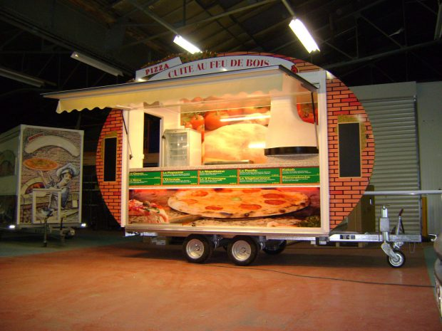 Remorque 350 Pizza et/ou Pâtes
