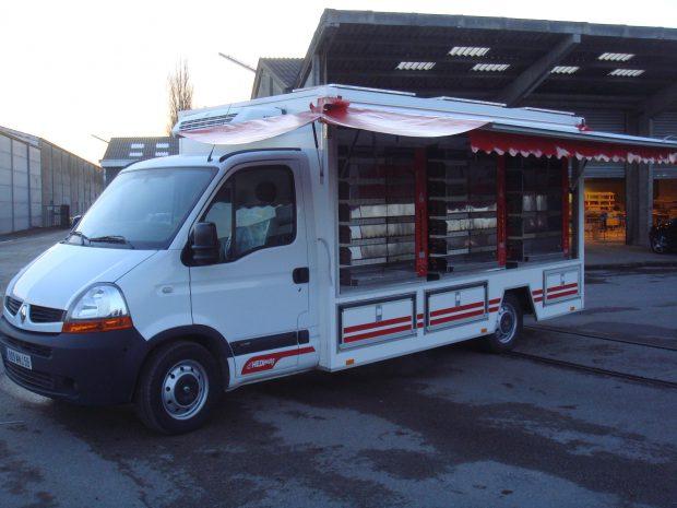 Camion rotisserie version éco