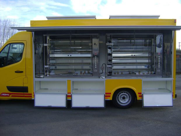 Camion rotisserie version éco