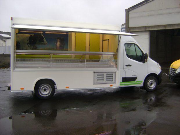 Camion de marché réfrigéré standard