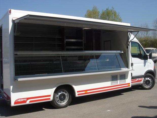 Camion de marché réfrigéré ECO