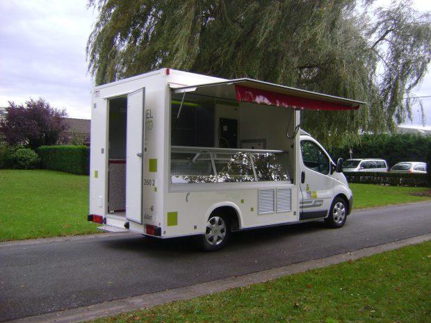 Camion de marché réfrigéré Junior