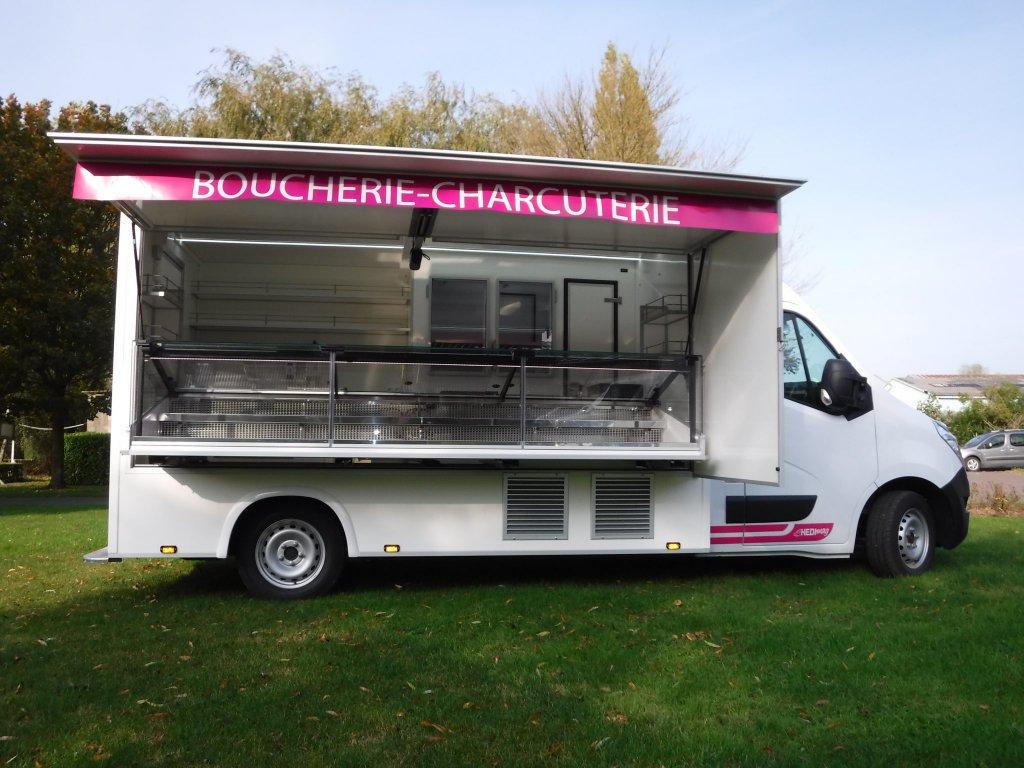 camion de marché réfrigéré Hedimag