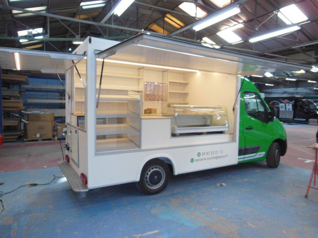 camion épicerie fine vrac Hedimag camion café thés