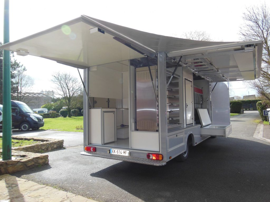 camion rôtisserie version standard camion rôtisserie hedimag food truck