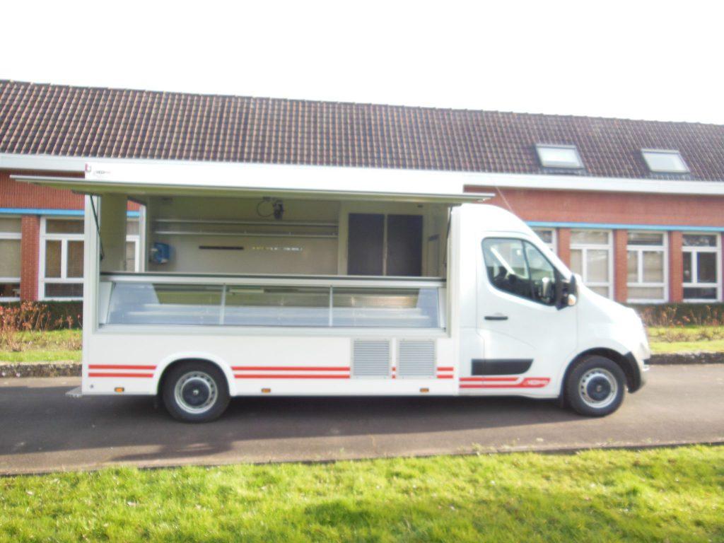 camion de marché réfrigéré prestige hedimag camion boucherie camion fromagerie camion charcuterie