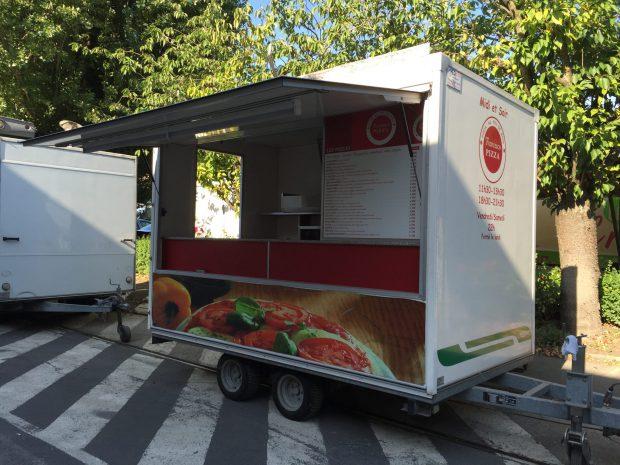 Remorque 320 Pizza Feu de bois – Ref R013