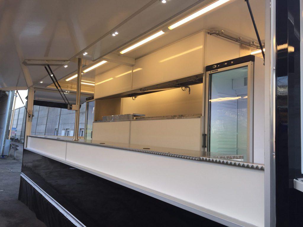 Remorque 600 pro friterie snack hedimag fabricant de for Etalmobile occasion