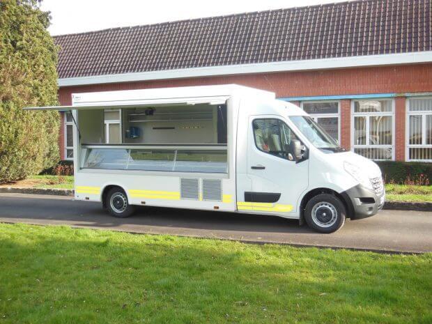 Camion boulangerie patisserie ECO