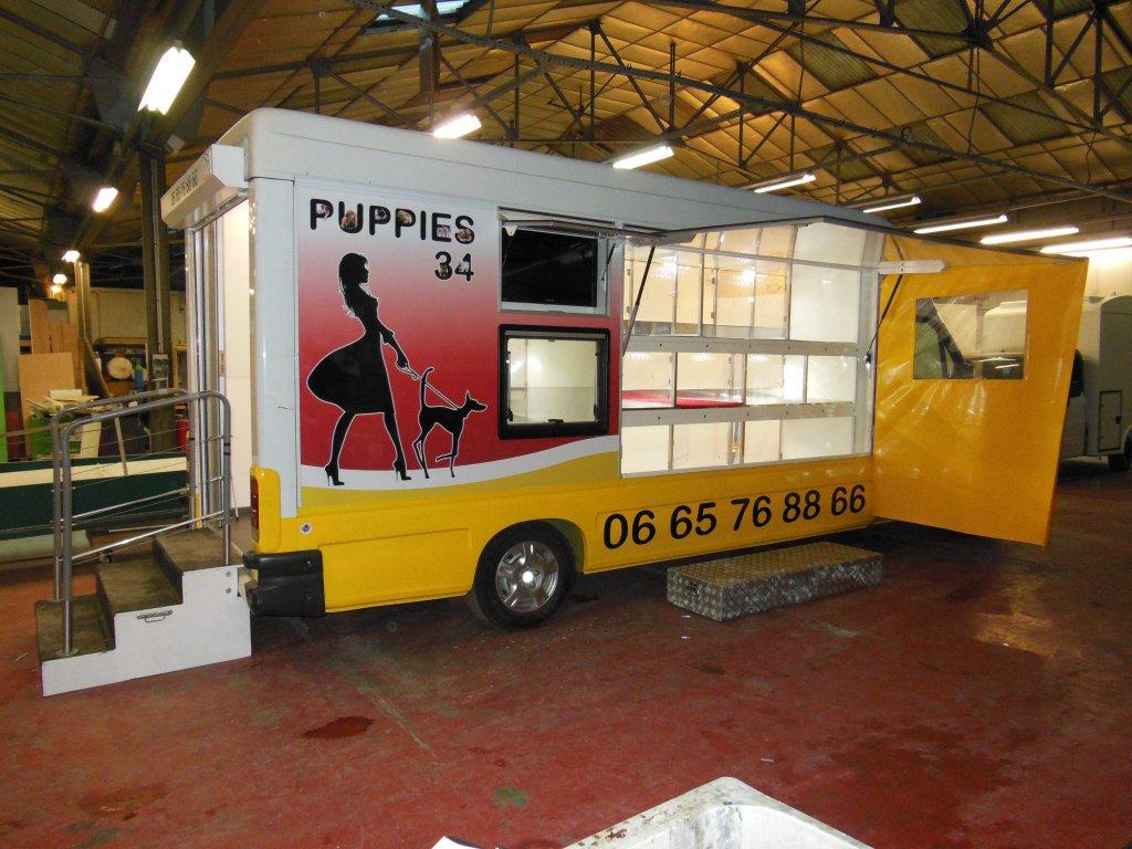 camion animalerie hedimag