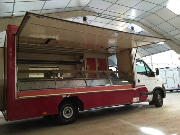 Camion de marché réfrigéré – Ref C002