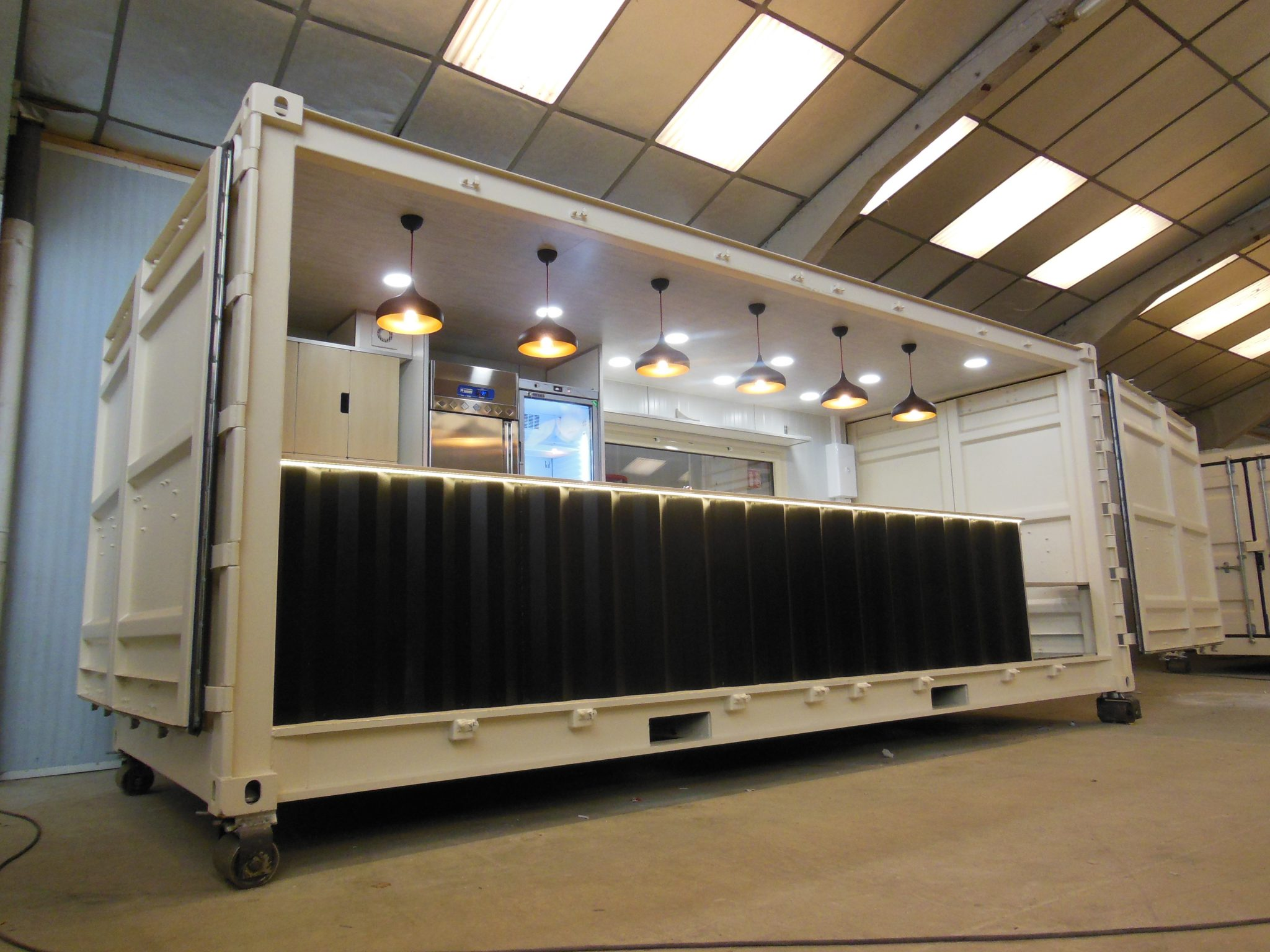 Module h container ph m re bar by hedimag fabricant de for Container bois occasion