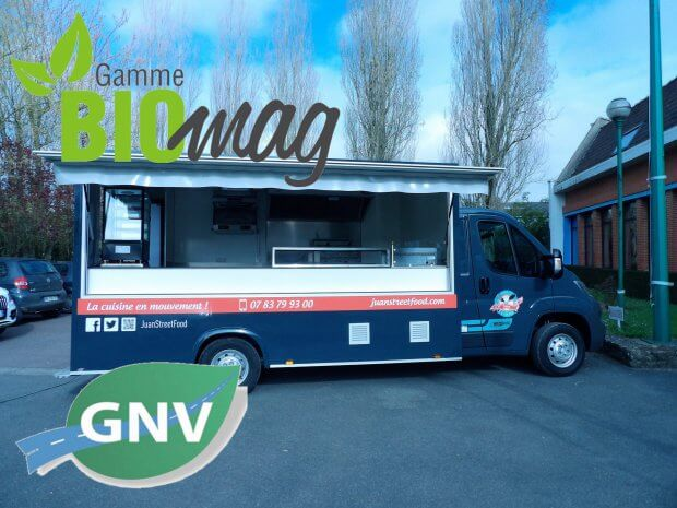 Food truck GNV