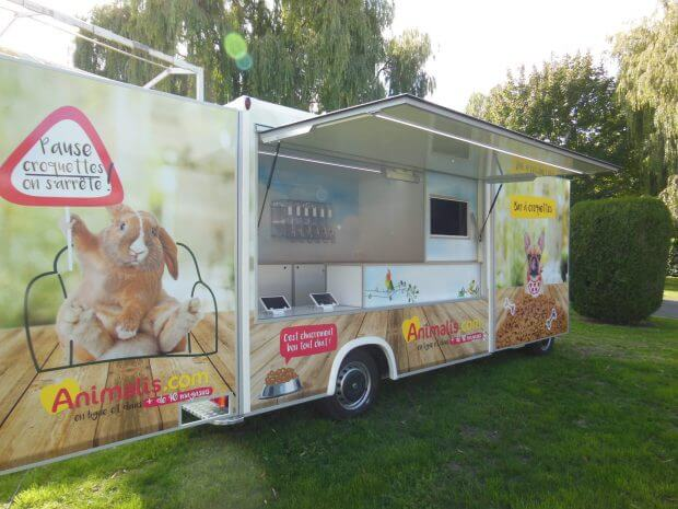 Camion boutique animal
