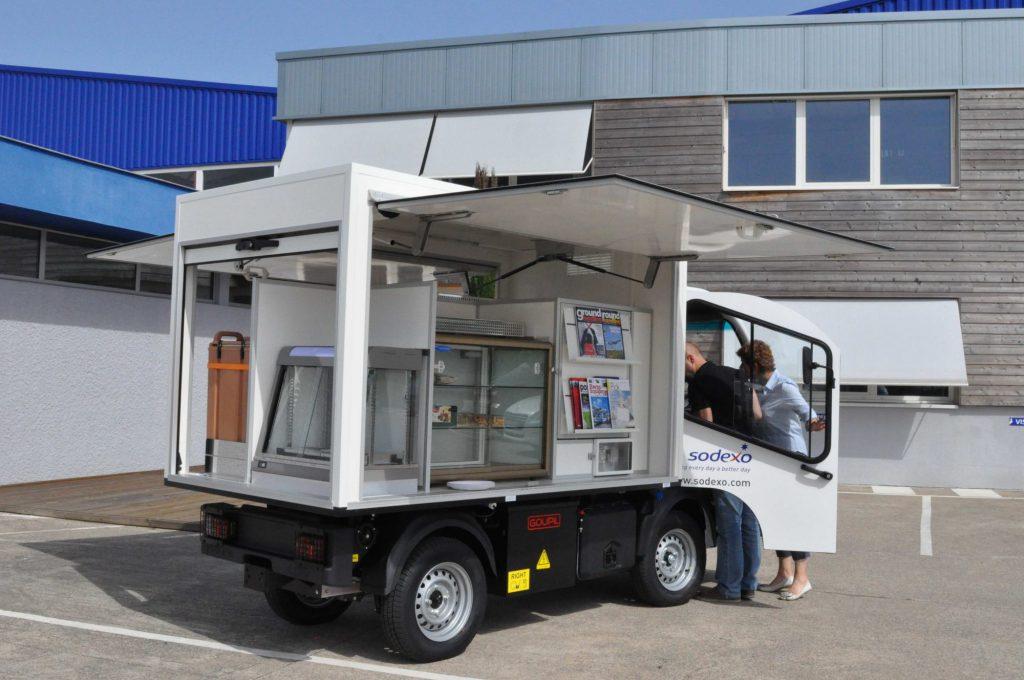 food truck goupil électrique
