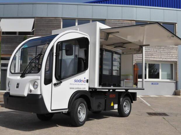 Food truck électrique