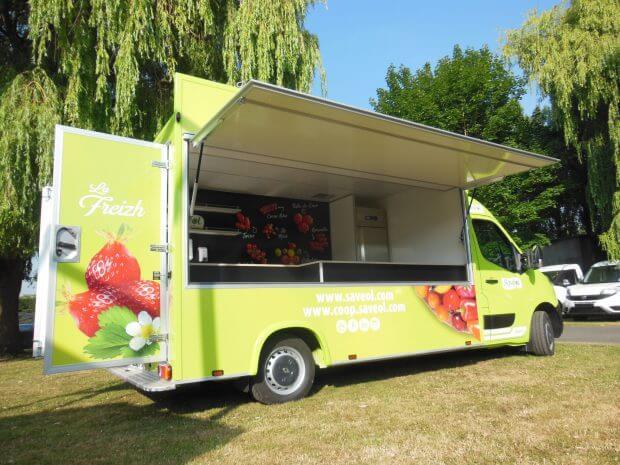 Camion fruits et légumes ECO