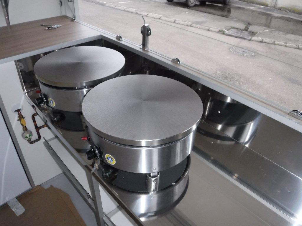 remorque crêpes gaufres glaces hedimag R2500 crêpes