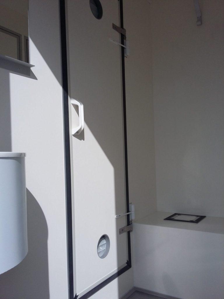 remorque décontamination amiante Hedimag désamiantage