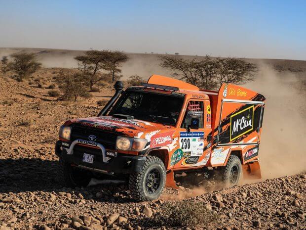 Hedimag, sponsor de la Ch'ti Friterie sur l'Africa Race 2018