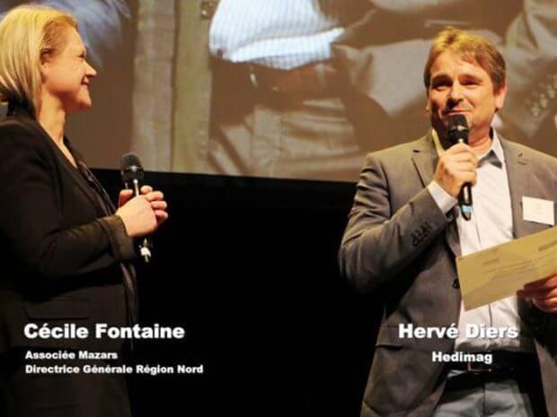 Hervé Diers, élu autodidacte de l'année