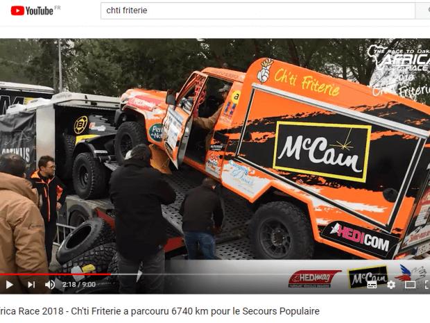 Hedimag, sponsor officiel de la ch'ti friterie, reverse 6740 euros au Secours Populaire