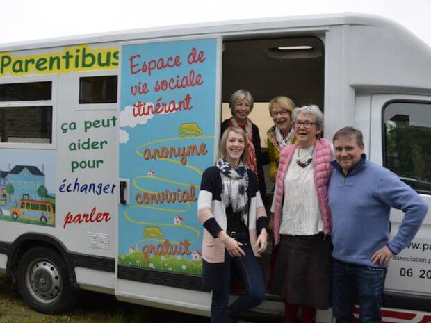 Parentibus, un bus dédié à l'écoute des familles