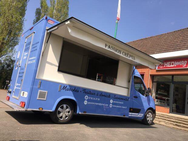 Passion crêpes : un food truck situé à Toulouse