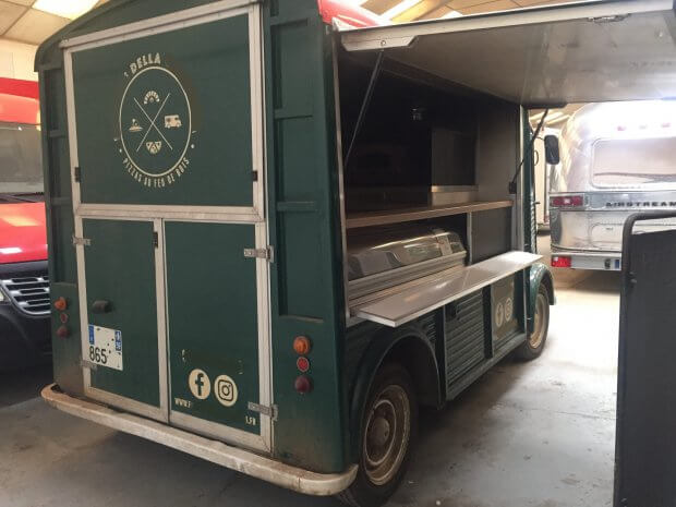 Citroen HY Pizza – four bois – Ref C054