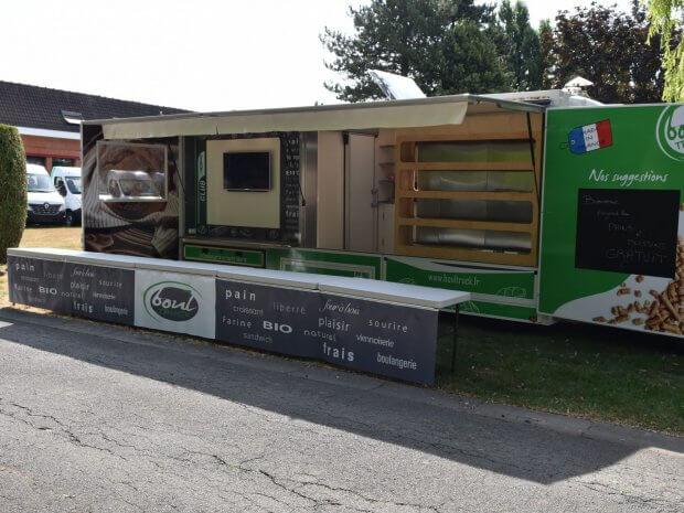 Le BOULTRUCK : 1ère boulangerie mobile au monde