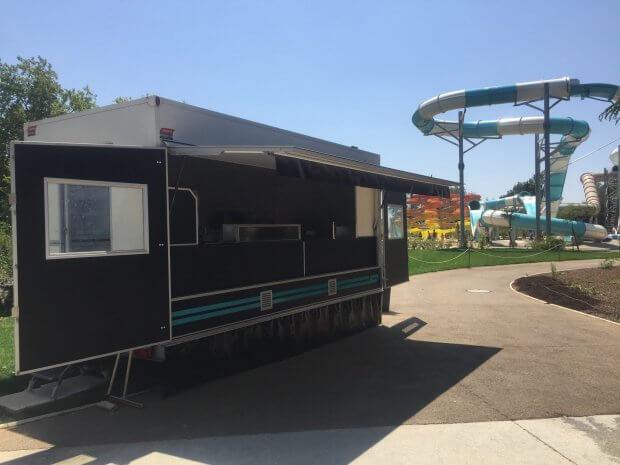 Walibi Sud Ouest investit dans une remorque friterie Hedimag