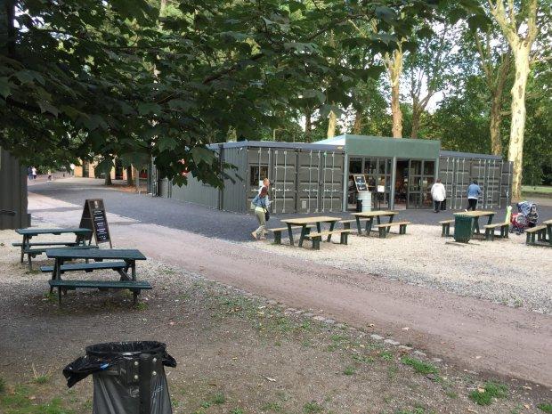 Hedimag réalise des containers de restauration pour Capucine à Lille (59)