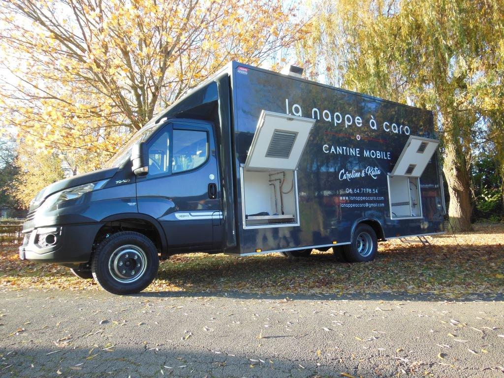 camion rôtisserie XL camion hedimag food truck
