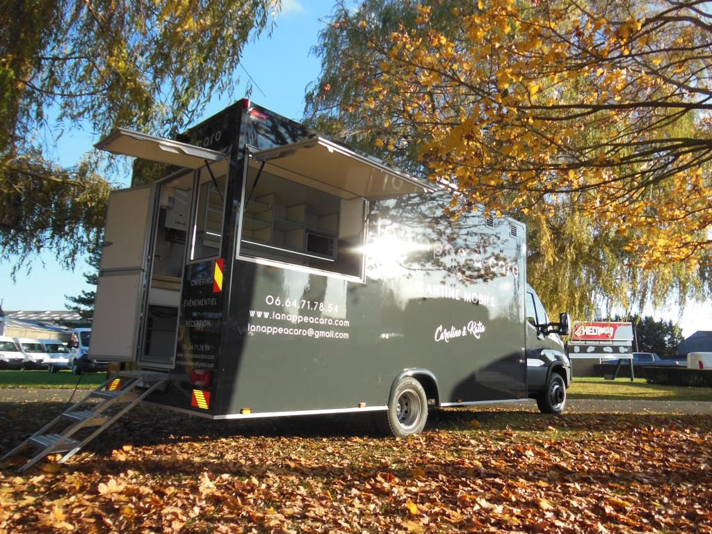 camion rôtisserie XL camion hedimag food truck camion snack XL